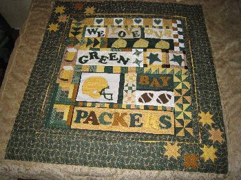 Florida 2008 : green bay packers quilt - Adamdwight.com
